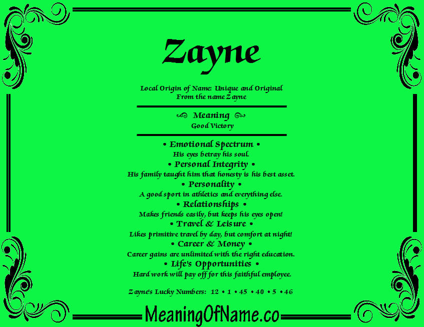 36++ Baby name meanings zayne ideas in 2021