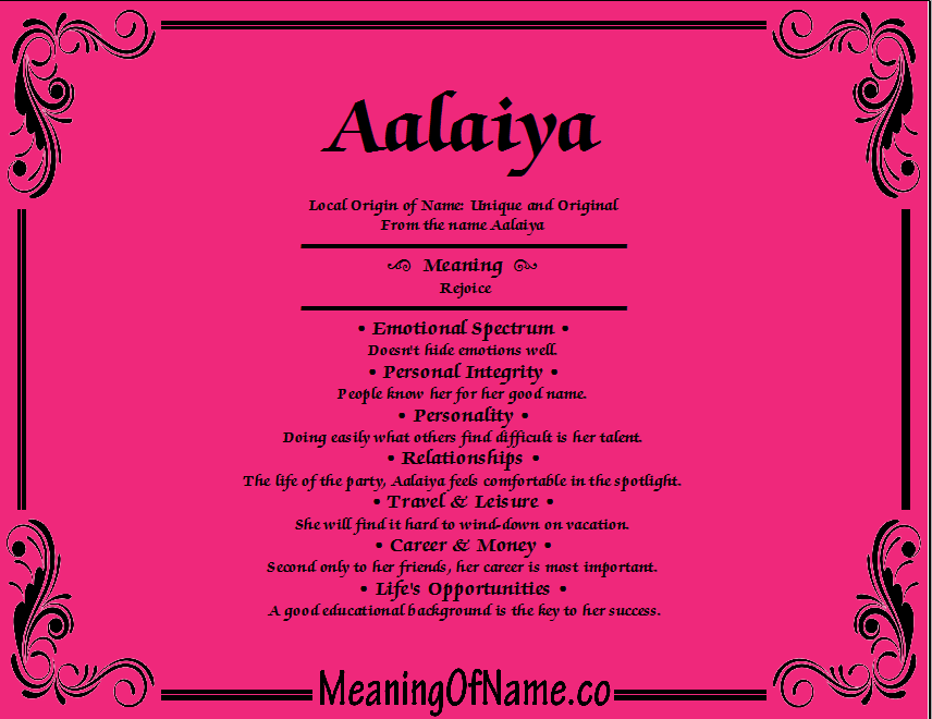 Meaning of Name Aalaiya