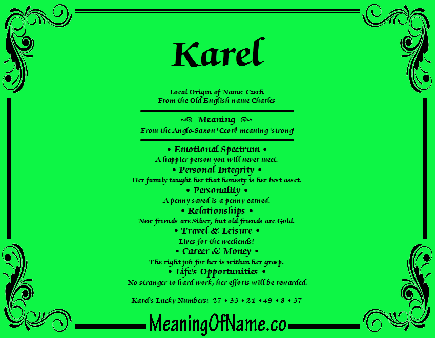 charles name meaning