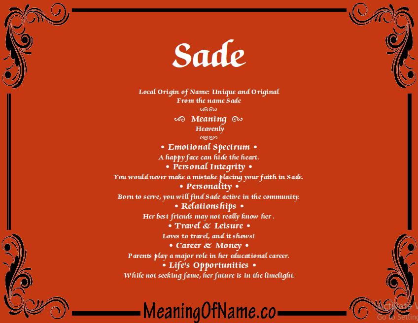 Sade - Sade (2009, CDr) | Discogs