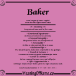 Meaning of Name - What does your name mean  ?